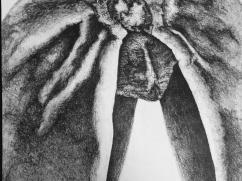 """Pistachio"", pencil, 11"" x 17"", 2013"